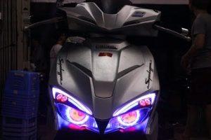độ đèn xe airblade