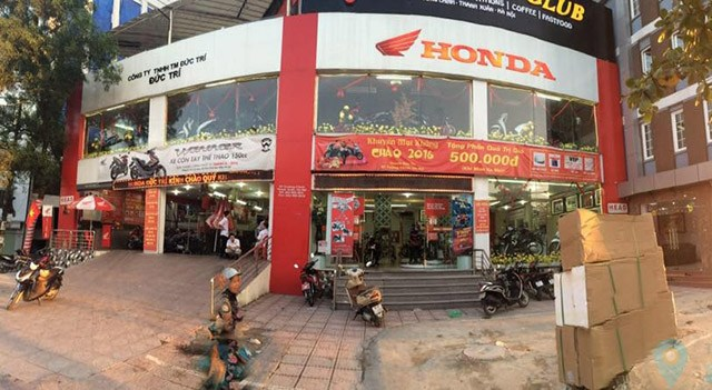 Đại lý xe máy Honda Đức Trí uy tín ở Hà Nội