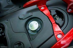 Dung tích bình xăng xe Vision