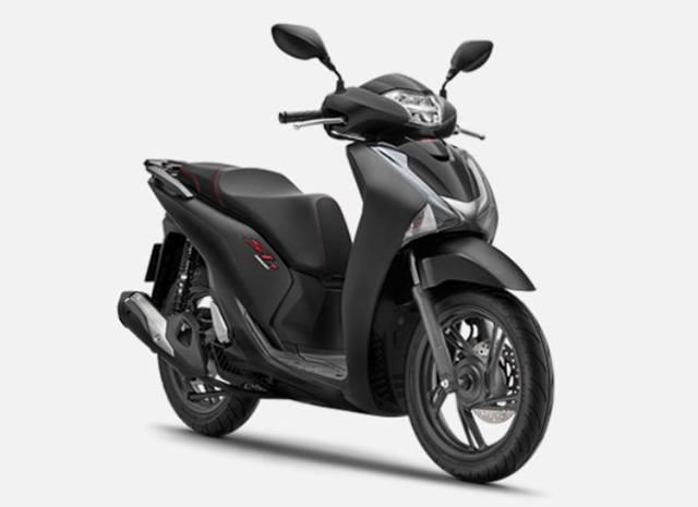 Honda Sh màu đen
